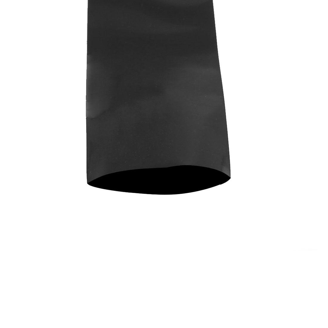 55mm Longueur 2.1 m Largeur Tube thermorétractable PVC noir pour 18650 Pack batterie - image 1 de 2