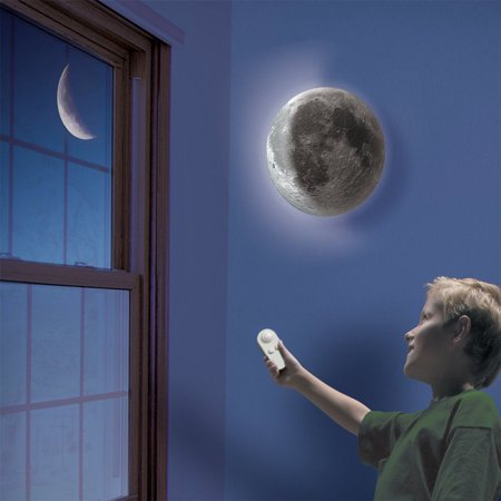 3D Moon Lamp in my room,wall moon lamp Night Light for kids - Moon In My Room