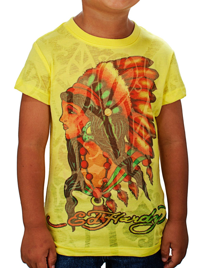 Ed Hardy Toddlers True Love T-Shirt
