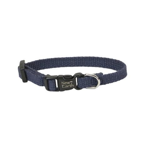 Earth Soy Dog Collar Three eighths inch x 6-8inch INDIGO - Indian Dog