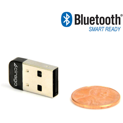 Cirago BTA8000 USB Bluetooth 4.0 Mini Adapter