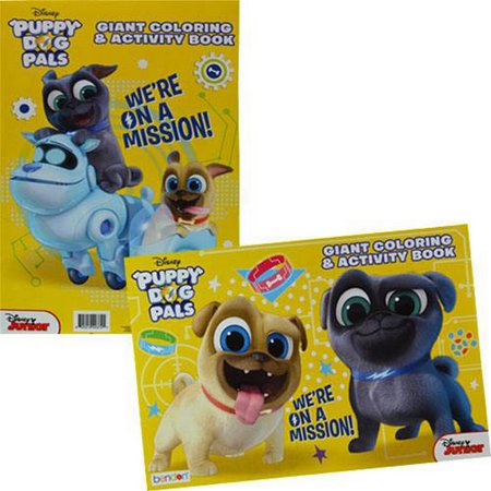 Giant Activity Pad (Puppy Dog Pals Giant Coloring and Activity Book (1) )
