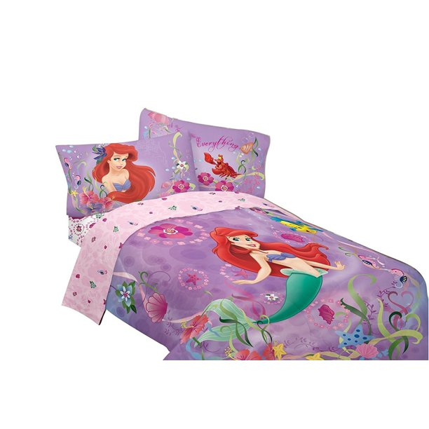 Disney S Little Mermaid Sea, Little Mermaid Bedding Full Size