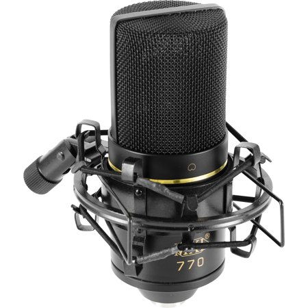 MXL 770 Cardioid Condenser Studio Microphone with Shockmount and