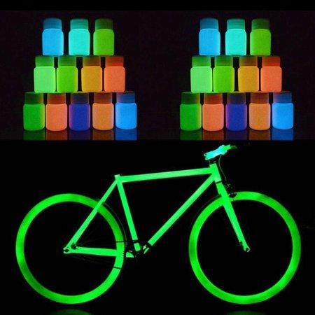 Neon Body Paint Pigment 20ml and Fluorescent Super Bright UV Glow CDICT