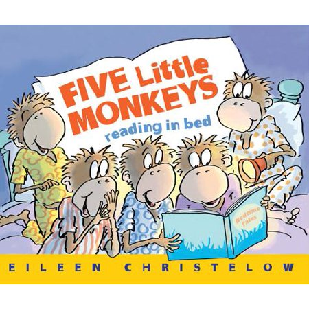 Five Little Monkeys Reading in Bed (Monkeyin Around)
