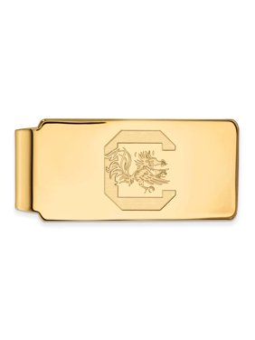 South Carolina Money Clip (10k Yellow Gold)