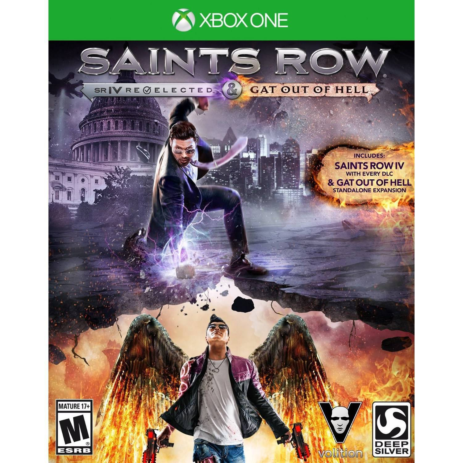 Saints Row IV: Re-Elected + Gat Out of Hell Launch Edition (Xbox One)