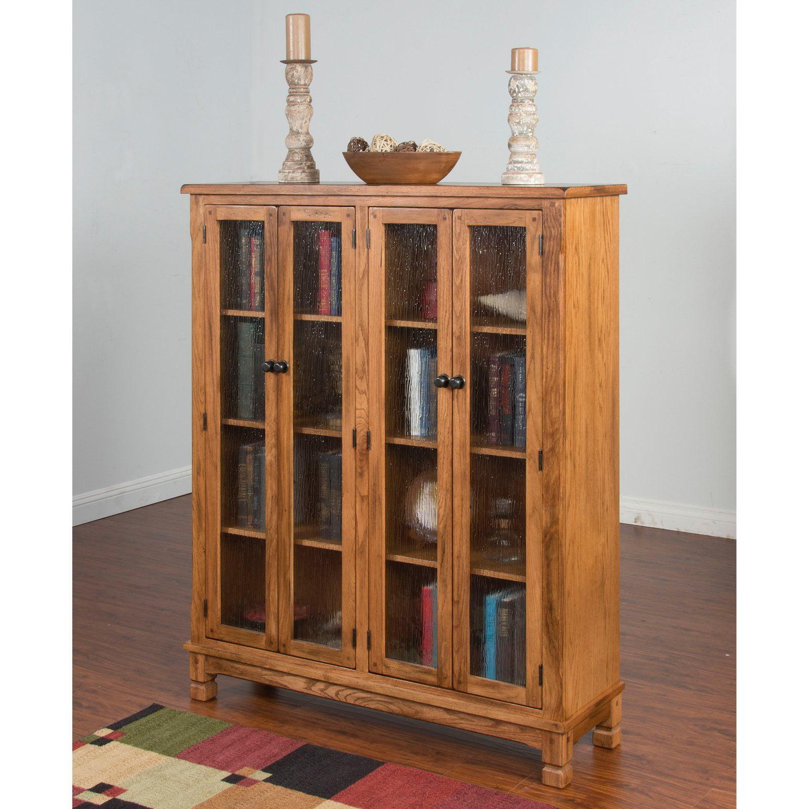 Sunny Designs Sedona 60 in. Bookcase - Rustic Oak