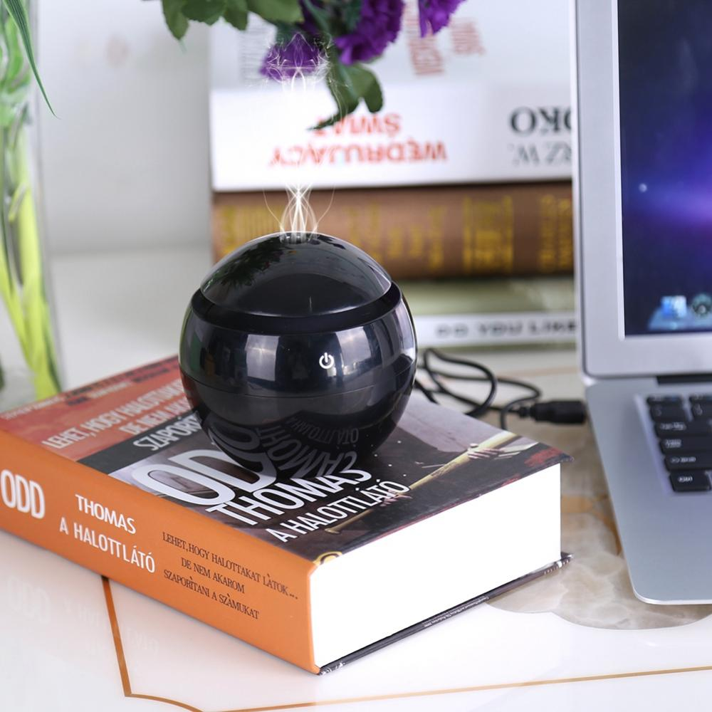 Humidifier,Fosa USB Essential LED Touch Aroma Ultrasonic Humidifier Oil Diffuser Air Purifier White, LED Touch Humidifier, Oil Diffuser