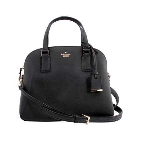 Kate Spade Cameron Street Lottie Ladies Medium Leather Satchel Bag PXRU8262001 (Kate Spade Black Cat)