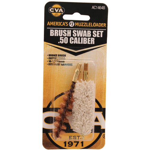 CVA .50 Calliber Brush/Swab Set