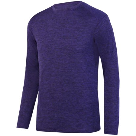 Augusta Intensify Blk Hthr L/S Trng T Purple S - image 1 de 1