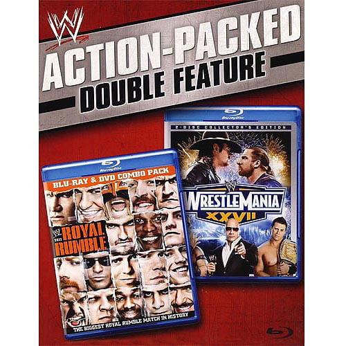 Wrestlemania XXVII / Royal Rumble 2011 (Full Frame)