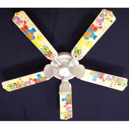 Ceiling Fan Designers Sesame Street Elmo Big Bird Indoor