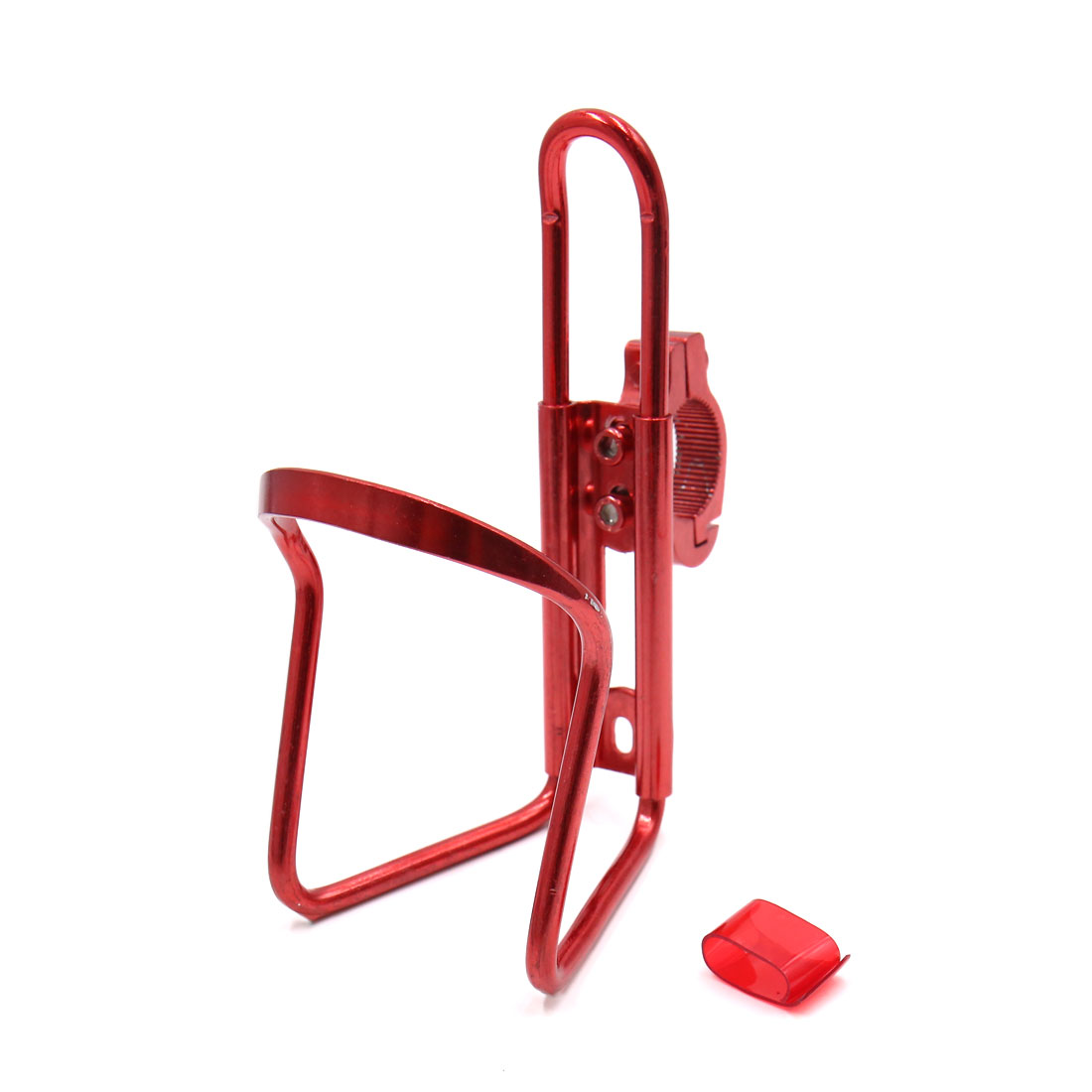 Red Metal Cycling Bike Bicycle Drink Water Bottle Cup Holder Mount Cage
