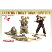 dragon 1/35 german eastern front tank hunters (gen 2) military figures model kit