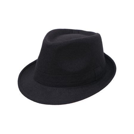 Simplicity Unisex Timelessly Classic Manhattan Fedora Hat 566e5c904a6