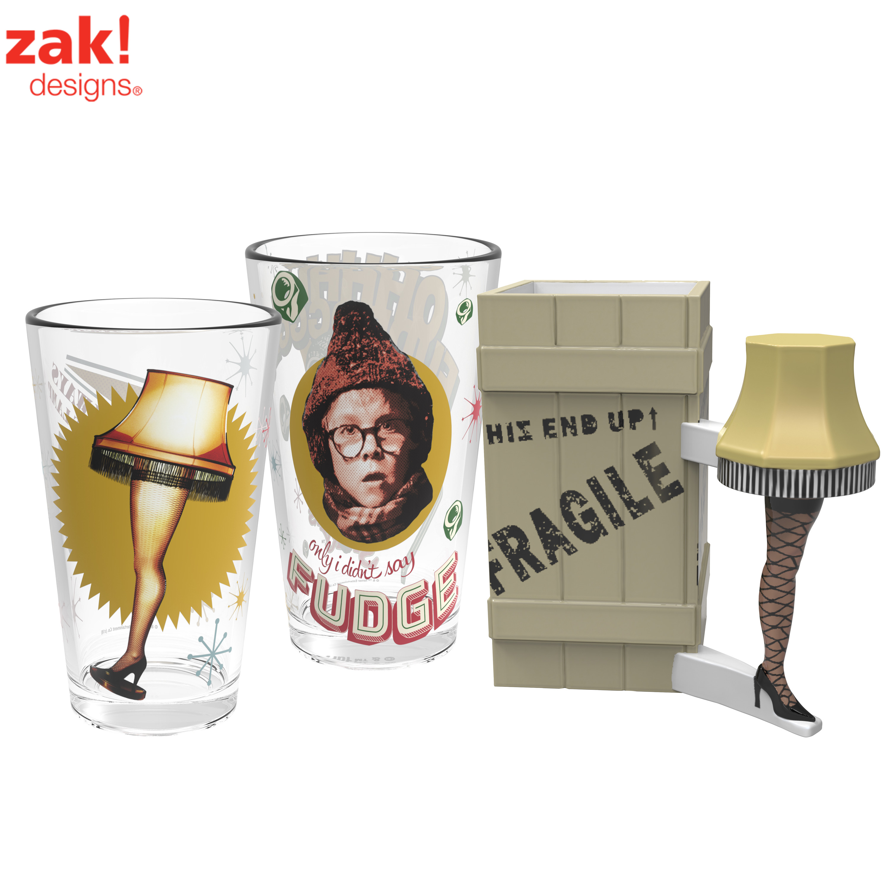 A Christmas Story Leg Lamp Coffee Mug & Pint Glasses