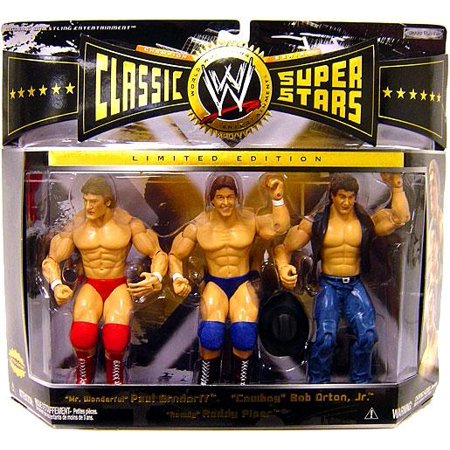 Wwe Roddy Piper (WWE Wrestling Classic Superstars Series 6 Rowdy Roddy Piper, Paul Orndorff & Bob Orton Jr. Action Figure)