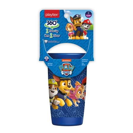 Playtex Sipsters Stage 2 Paw Patrol Boys Spoutless Sippy Cup, 10 oz