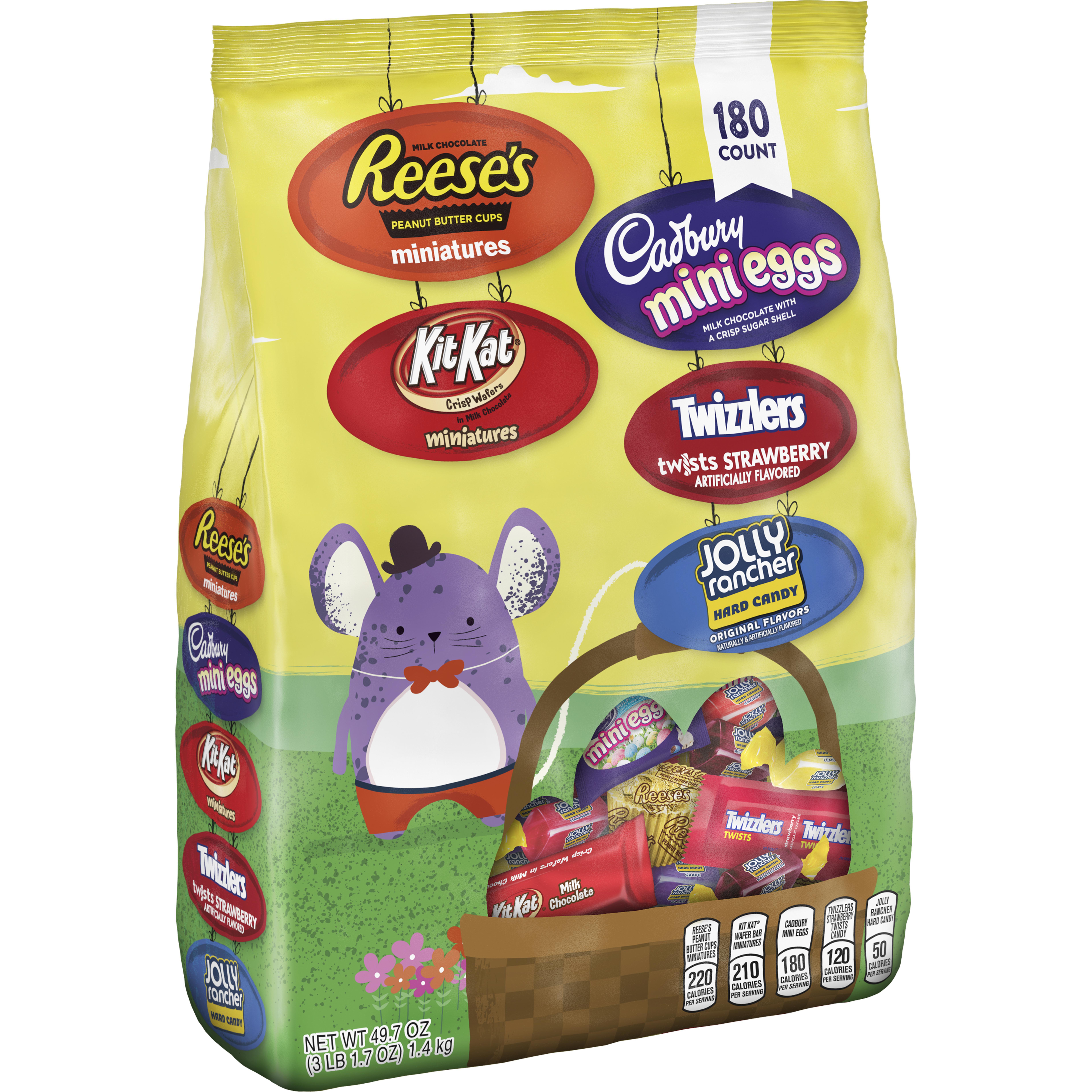 Hershey, Easter Egg Hunt Assortment, 180 Ct