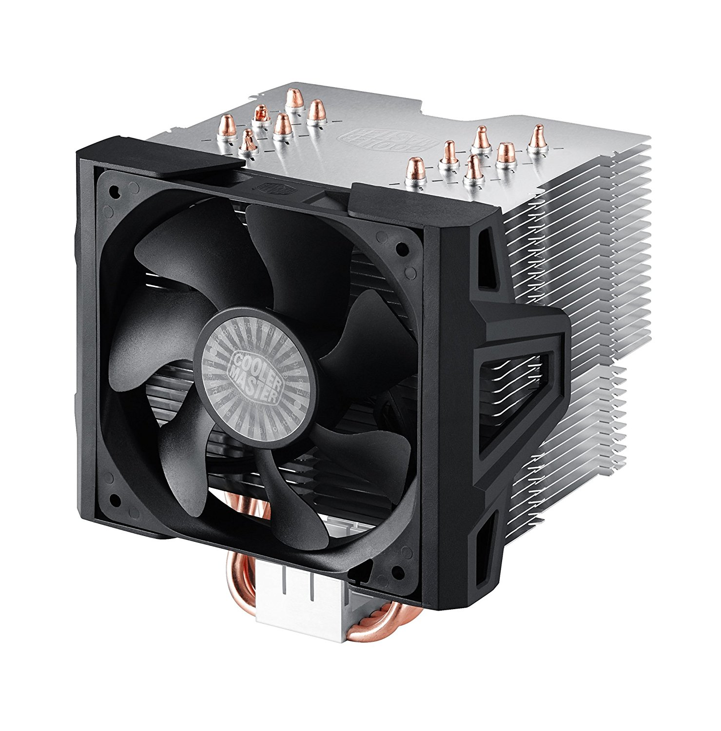 Cooler Master Hyper 612 Ver.2 - Silent CPU Air Cooler with 6 Direct Contact Heatpipes and Folding Fin Structure (RR-H6V2-13PK-R1)