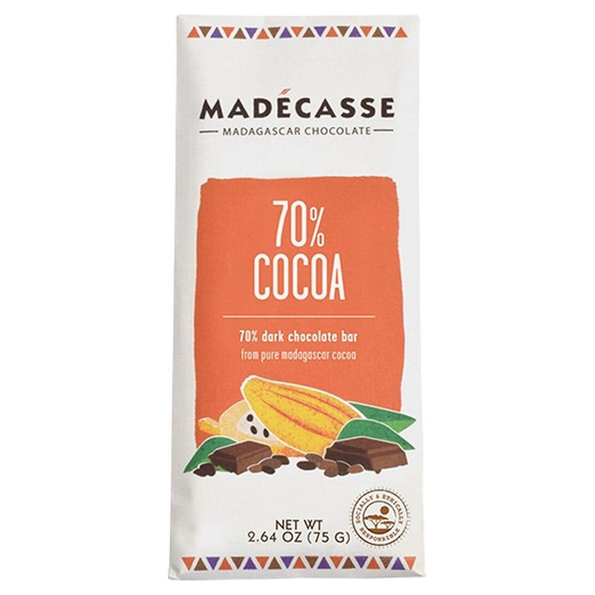 Madecasse Discs, Dark Chocolate, 70% Cocoa - (Case of 10 ...
