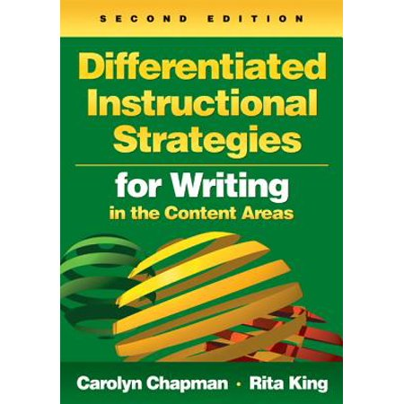 Differentiated Instructional Strategies for Writing in the Content Areas - (Differentiated Instructional Strategies For Science Grades K 8)