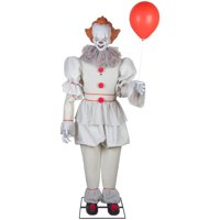 Way to Celebrate Halloween Multicolor Animated Pennywise Decoration (6 ft)