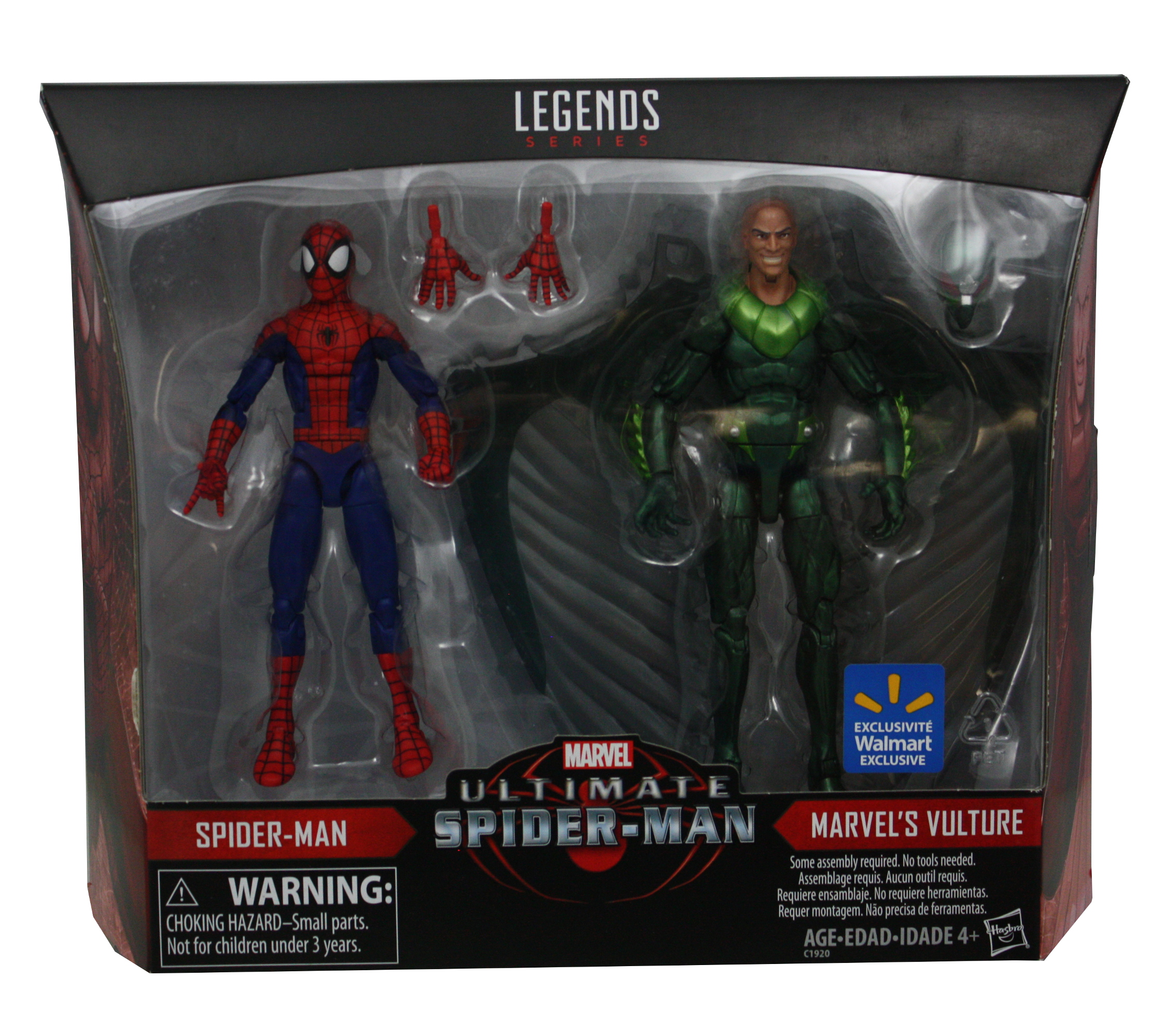 "Spider-Man Legends And Vulture 6"" Action Figures, 2-Pack by HASBRO INTERNATIONAL TRADING B V"