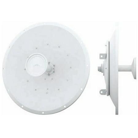 Ubiquiti AirMax Carrier Class 2x2 PtP Bridge Dish Antenna - Upto 31.1 Mile Range - SHF - 5.10 GHz to 5.80 GHz - 30 dBi - Wireless Data NetworkPole