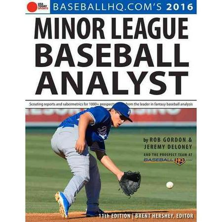 Minor League Baseball Analyst 2016
