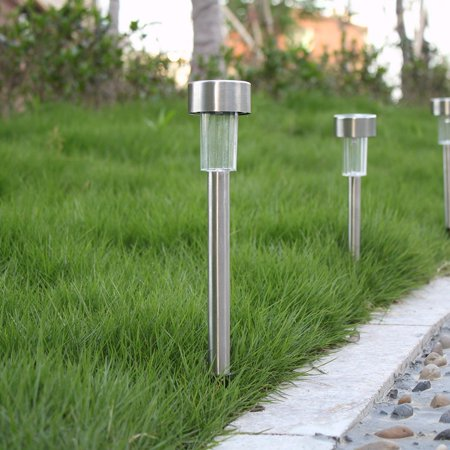 10 Pack Solar Powered Lights Outdoor Solar Path Lights Led