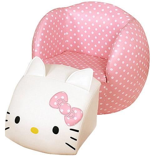 Hello Kittypeek Aboo Chairottoman Walmartcom