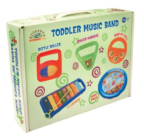 Hohner Kids Toddler 5-Piece Music Band Set