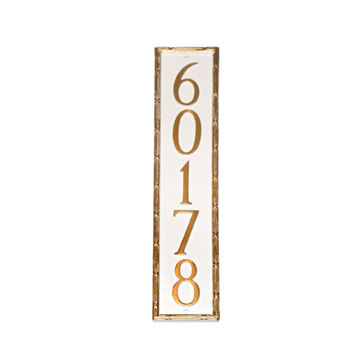 Montague Metal Products Inc. Washington Column Address Plaque