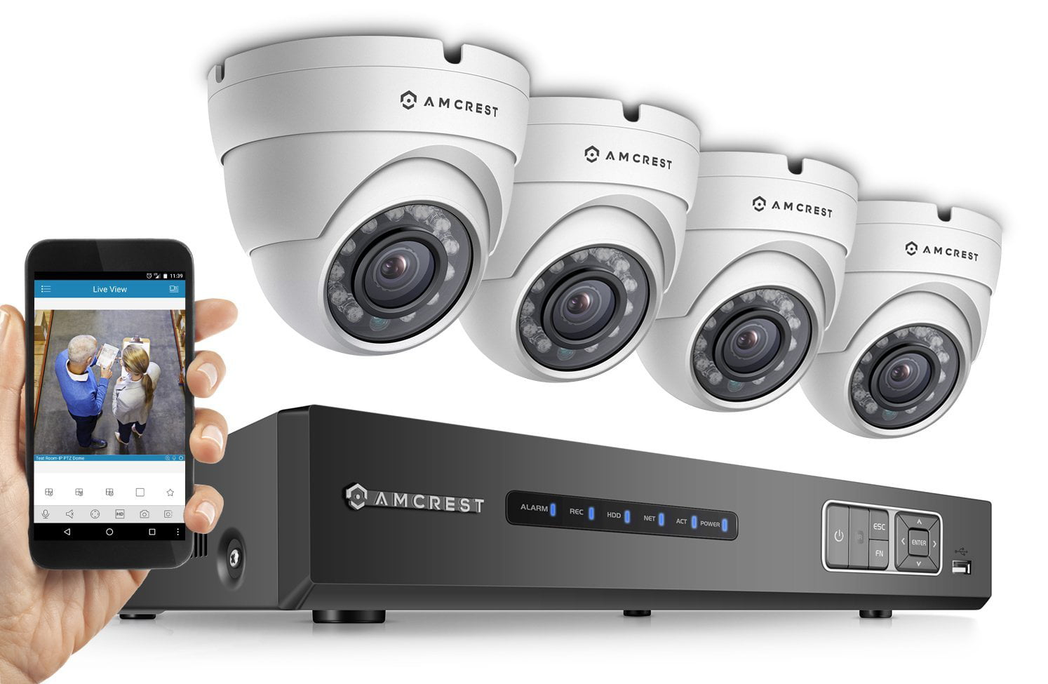 CCTV Security Camera System - Industrial Automation and