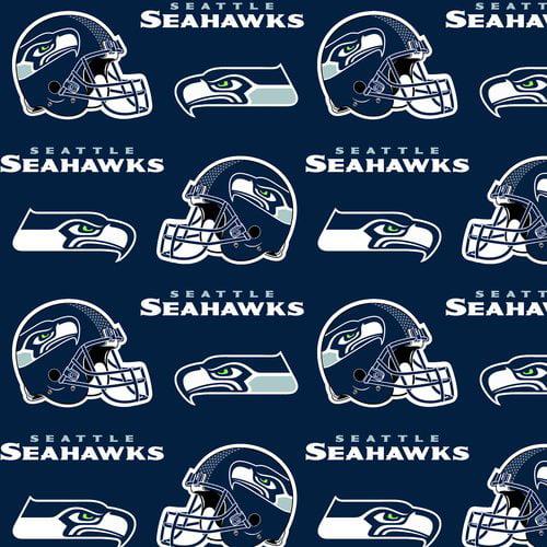 NFL Seattle Seahawks Fleece Fabric