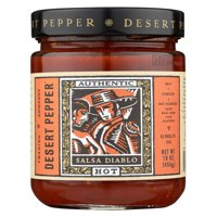 Desert Pepper Trading Hot Diablo Salsa - Case Of 6 - 16 Oz.