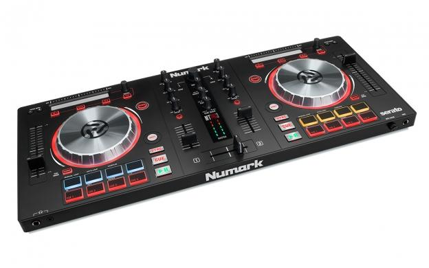 Click here to buy Numark Mixtrack Pro 3 | USB DJ Controller with Trigger Pads & Serato DJ Intro Download... by Numark.