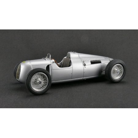 Auto Union Type (1936-1937 Auto Union Type C Silver 1/18 Diecast Model Car by)
