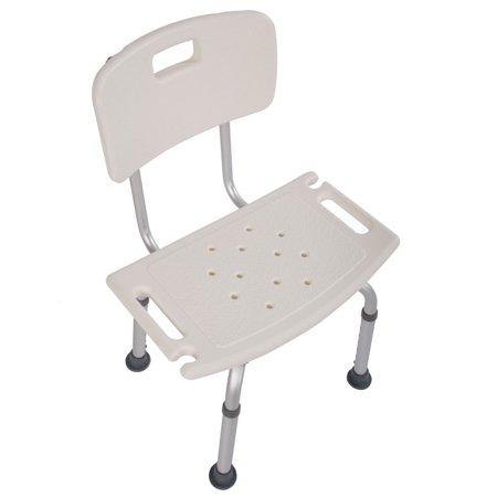 Hot Sale 2019 Shower Chairs and Stools Heavy Type Adjustable Aluminum Alloy Old People Shower Chair Bath Chair White Shower Chair for Bathtub](Baby Shower Chairs For Sale)