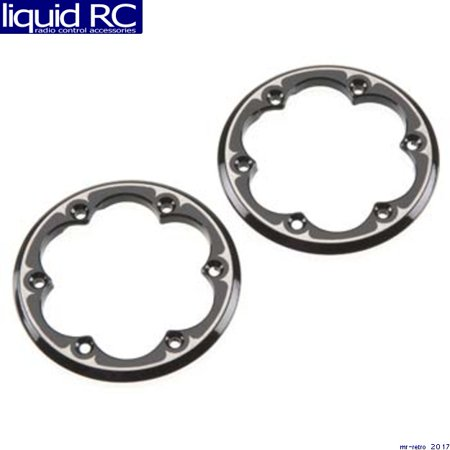 (Axial Racing AX08069 2.2 Competition Beadlock Ring Black (2))