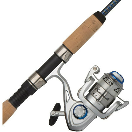 Bass Pro Reels - Shakespeare Ugly Lite Pro Spinning Reel and 7' Fishing Rod Combo