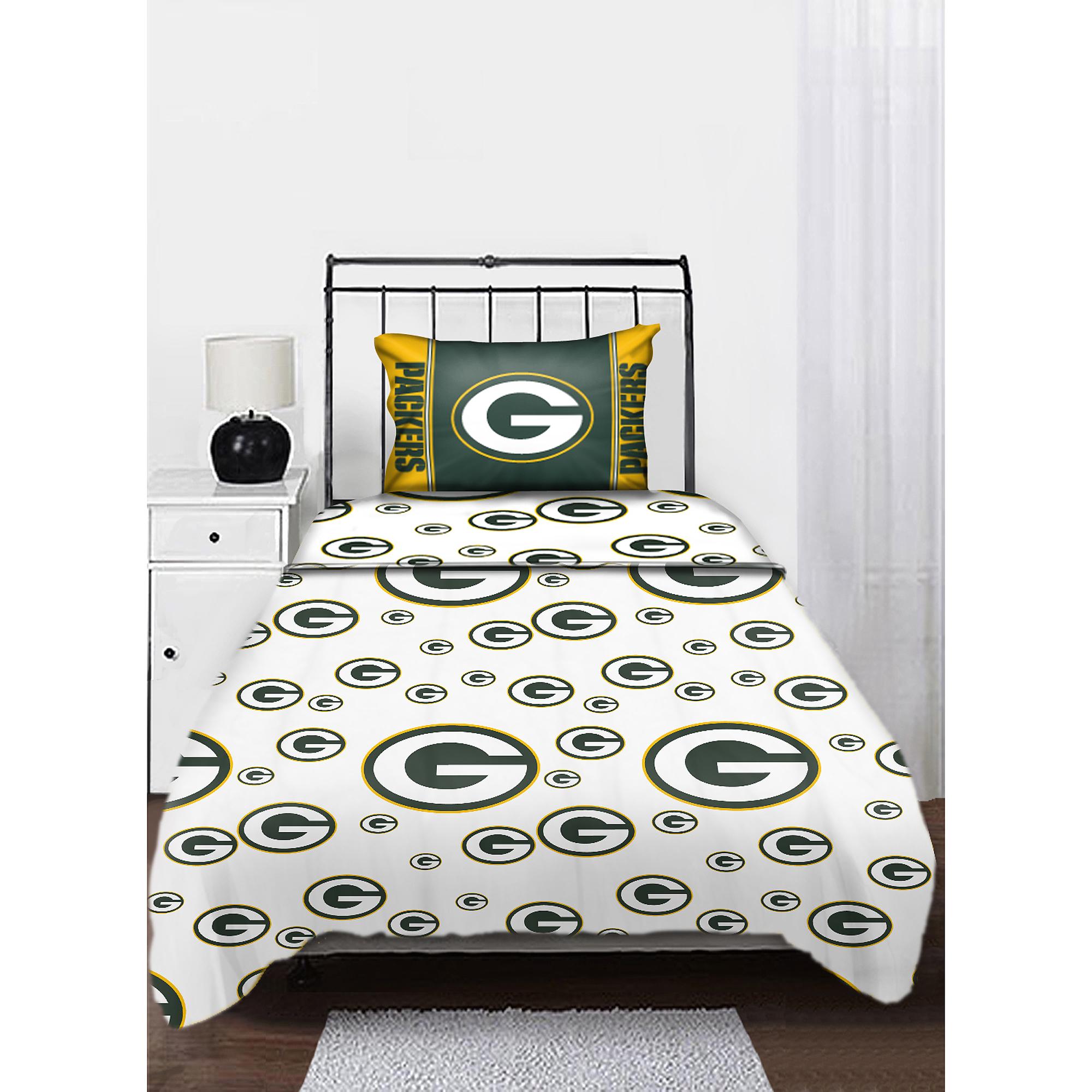 NFL Twin Sheet Set, Green Bay Packers