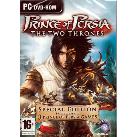 Prince of Persia Two Thrones (Special Edition 3 PC Games) The Two Thrones + The Sands of Time + Warrior