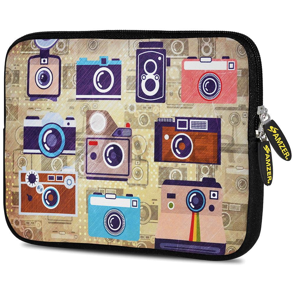 Designer 7.75 Inch Soft Neoprene Sleeve Case Pouch for ...