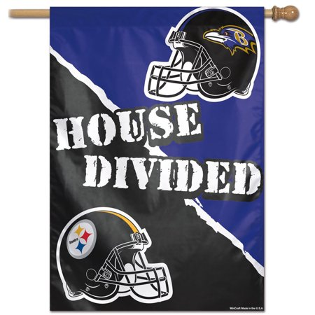 Pittsburgh Steelers vs. Baltimore Ravens WinCraft 28