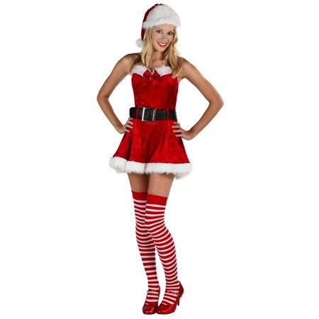 Plus Size Sexy Mrs Claus Costume Walmart